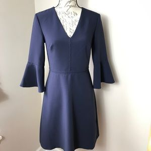 Banana Republic V-Neck Bell Sleeve Dress